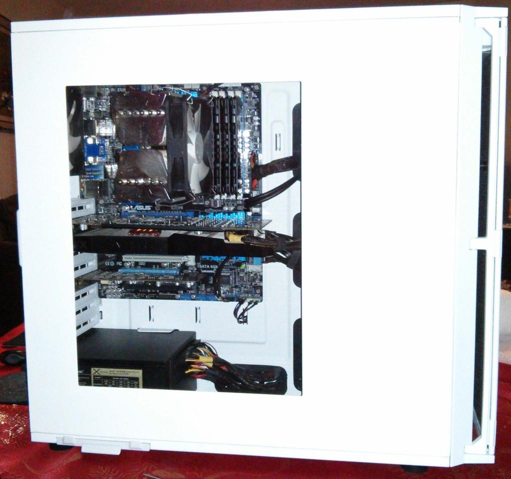 Montage fini P280 white window