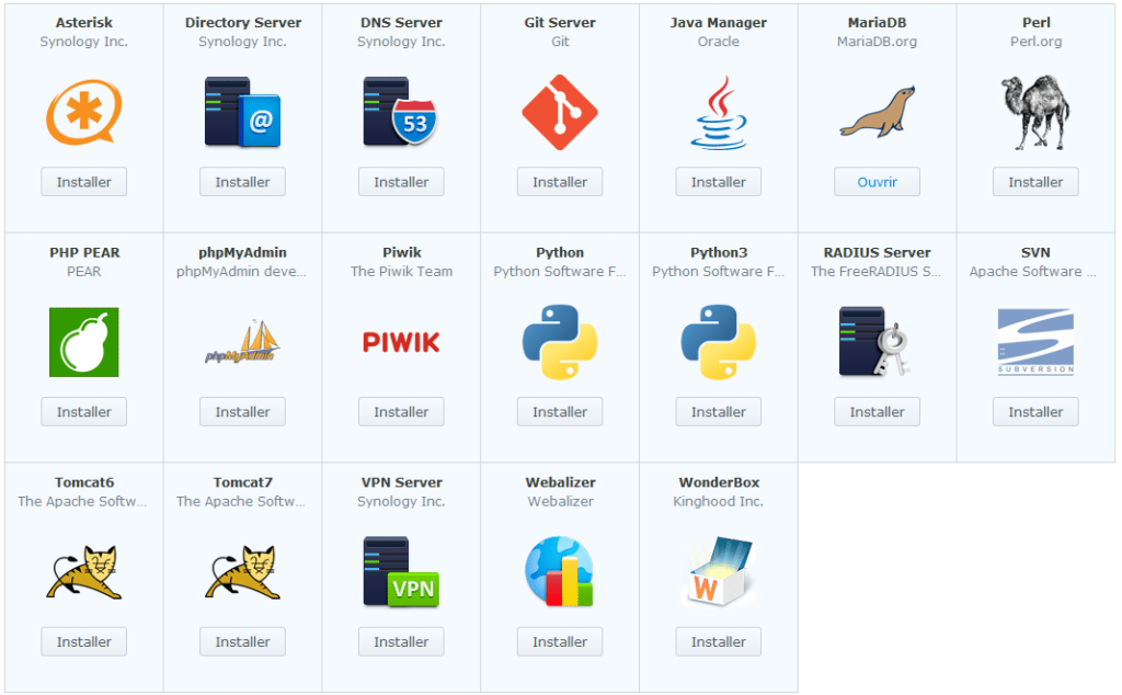 Synology_ds214plus_apps_utilitaires