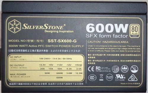 Silverstone_SFX_SX600-G_cote1