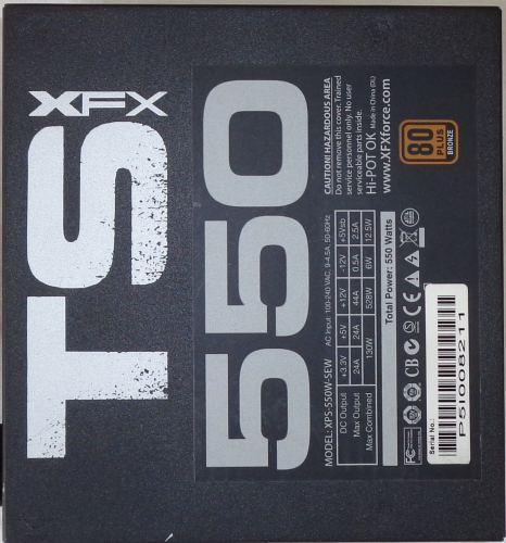 XFX_TS550_Core_edition_dessous