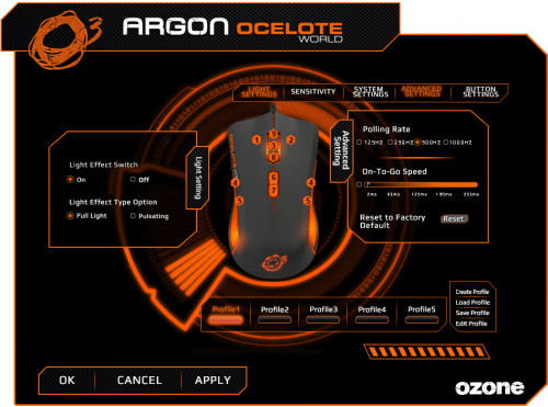 Ozone_Argon_Ocelote_logiciel1