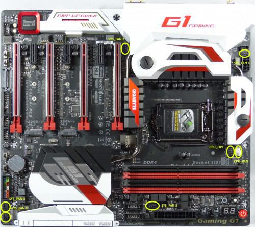 Gigabyte_Z170X_Gaming_G1_dessus_ventilateurs