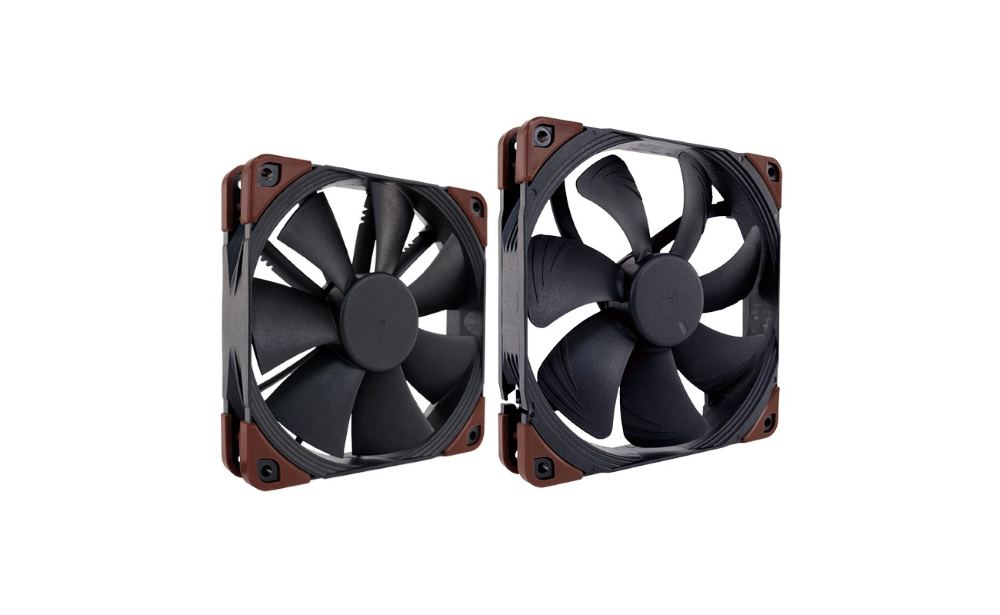 Photo of [Test] Noctua Industrial PPC NF-A14 & NF-F12 24V