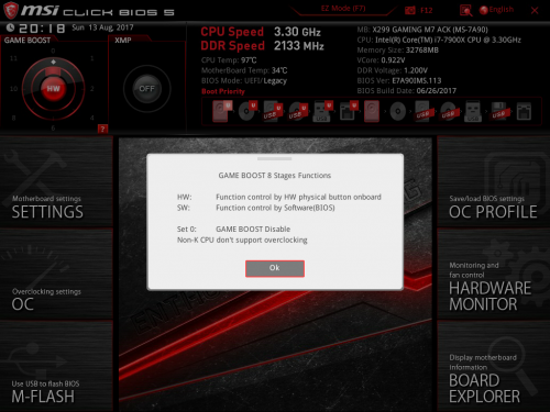 Test - MSI X299 Gaming M7 ACK - Conseil Config
