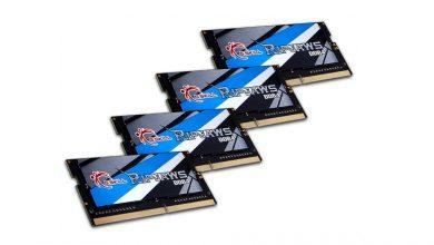 Photo of G.Skill à la plus grosse encore une fois, 32Go de DDR4 3800 MHz SO-DIMM!