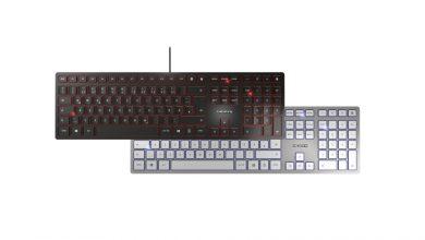Photo of Cherry KC 6000 Slim – Un clavier plat comme une tranche de pomme.