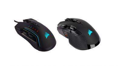 Photo of Corsair Ironclaw RGB Wireless et Glaive RGB Pro, deux nouvelles souris RGB !