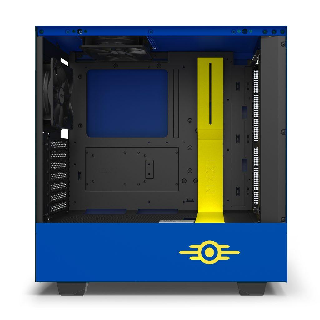 NZXT H500 Vault Boy intérieur
