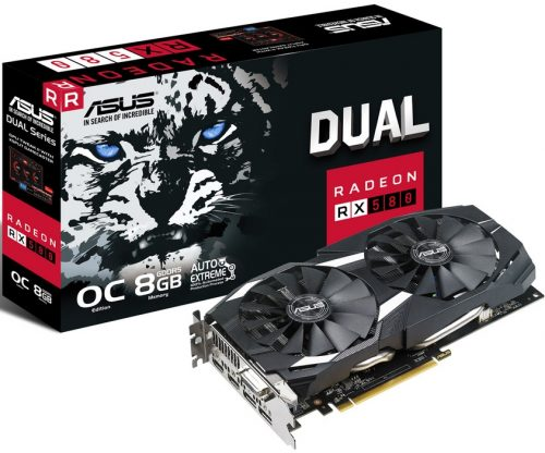 Asus Radeon RX 580 promotion