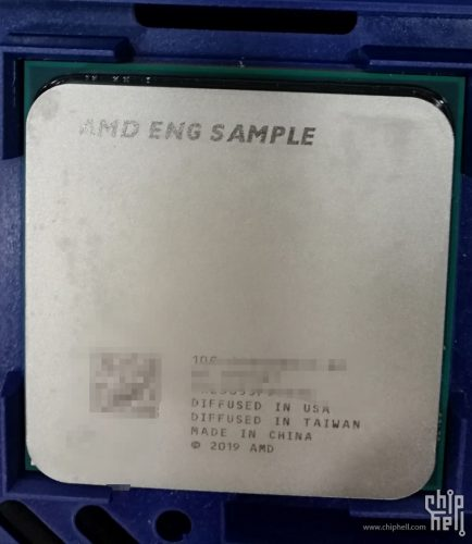 Processeur AMD Ryzen 3000 engineering sample
