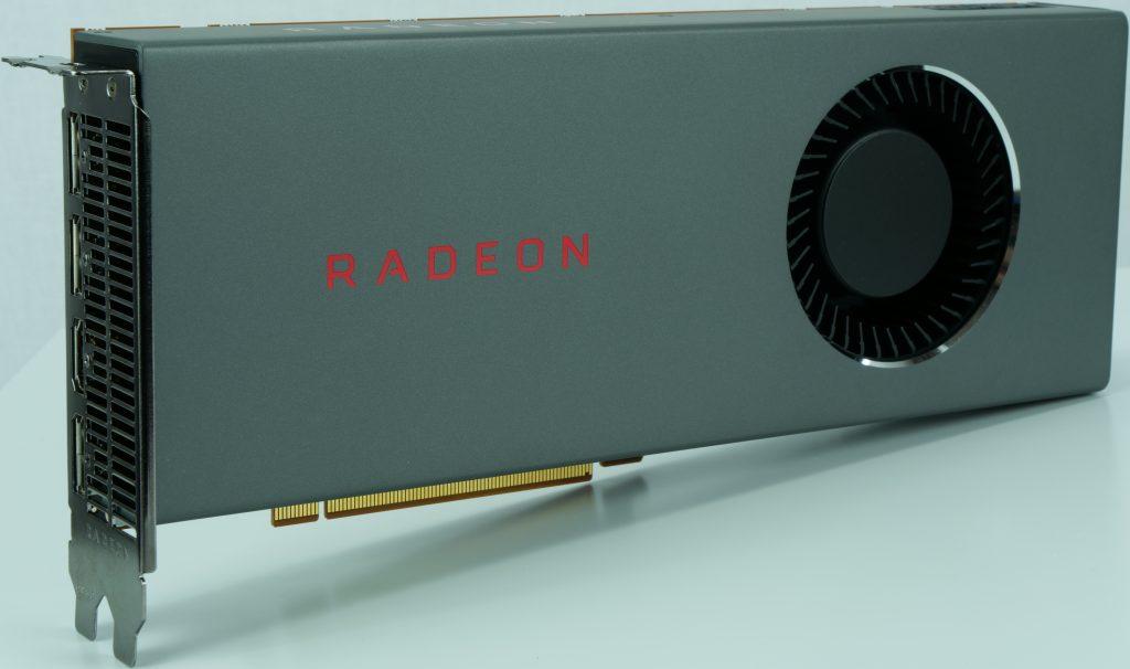 AMD Radeon RX 5700, design de référence