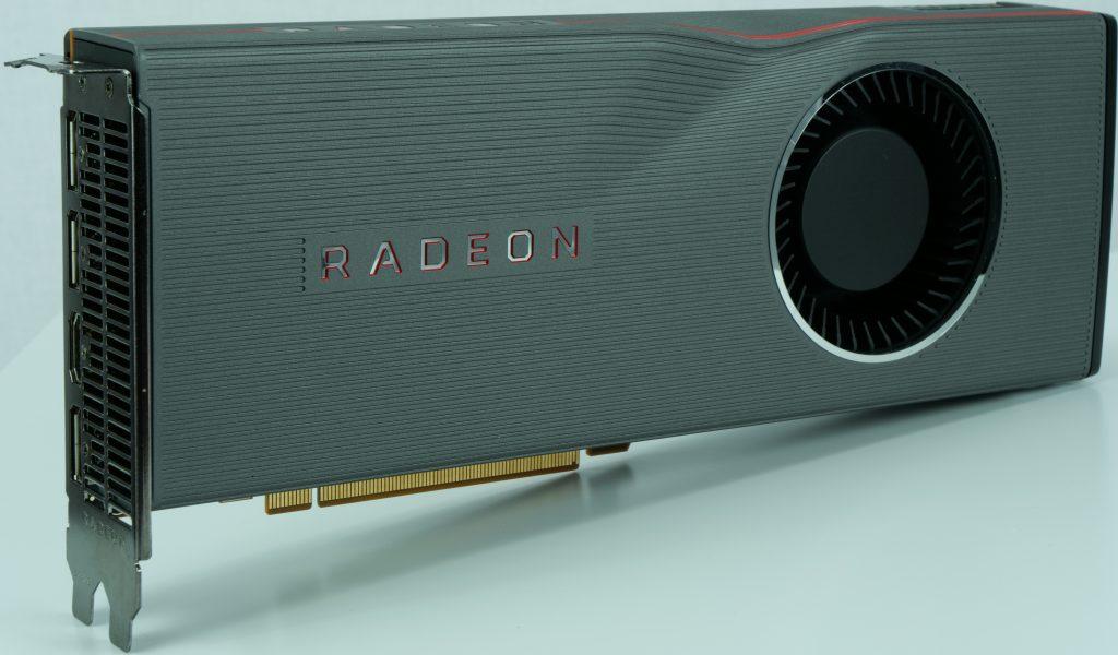 AMD Radeon RX 5700 XT, design de référence