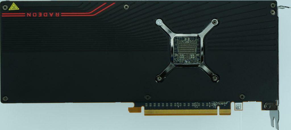 AMD Radeon RX 5700 XT dessous