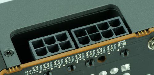 Connecteurs d'alimentation AMD Radeon RX 5700 et RX 5700 XT