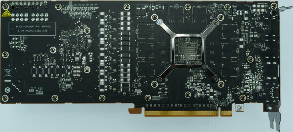 AMD Radeon RX 5700 dessous