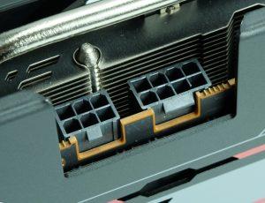 Sapphire Radeon RX 5700 XT connecteurs d'alimentation