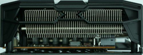 Sapphire Radeon RX 5700 XT arrière ventirad