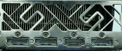 Sapphire Radeon RX 5700 XT connectique
