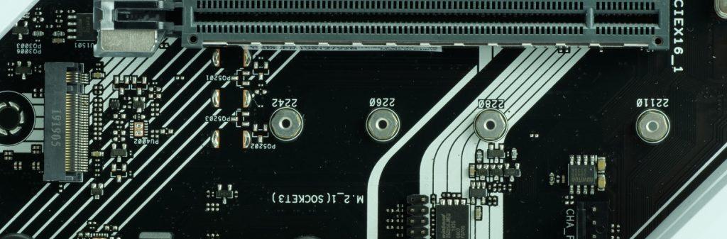 Asus Prime X570 Pro port M.2 sans radiateur