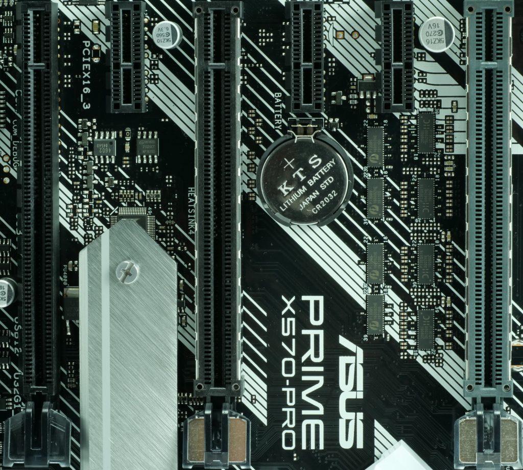 Asus Prime X570 Pro ports PCI-E