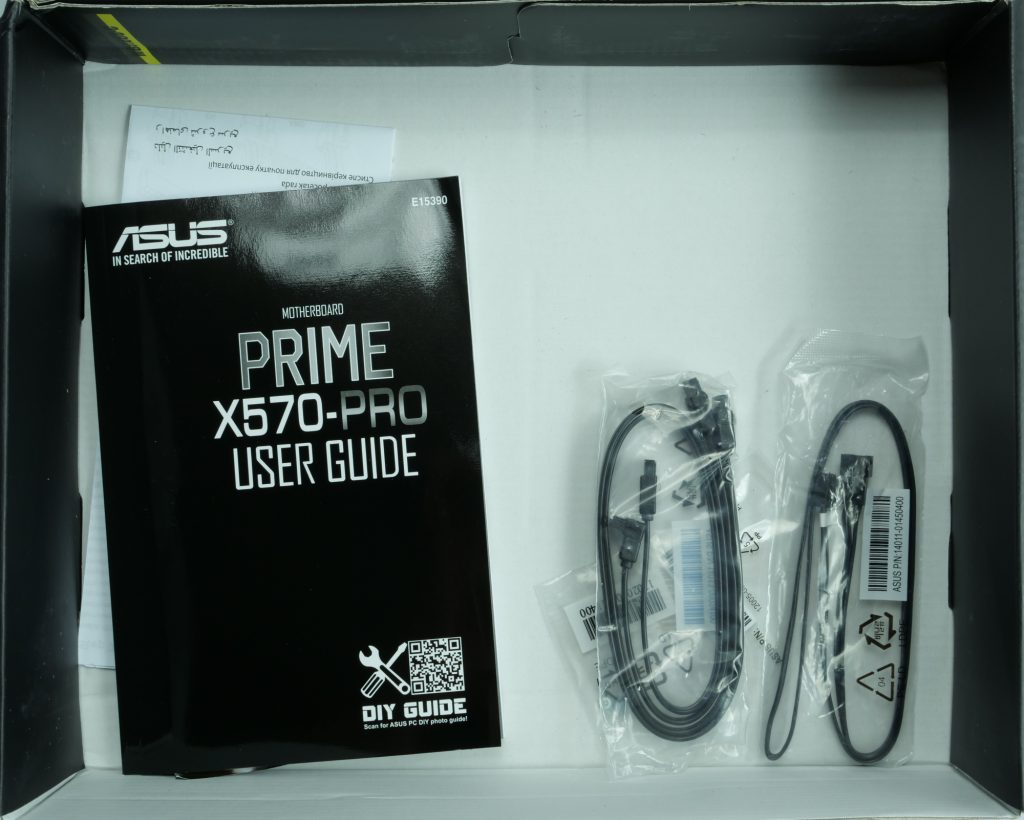 Asus Prime X570 Pro bundle