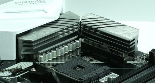 Asus Prime X570 Pro radiateurs VRM