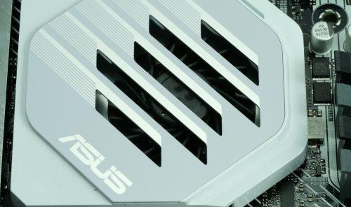 Asus Prime X570 Pro ventilateur chipset