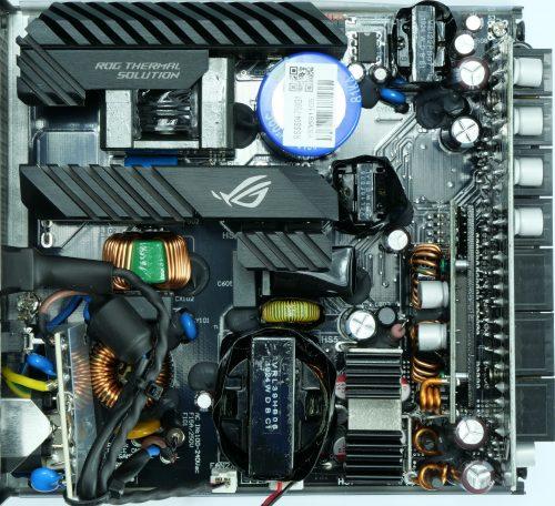 Alimentation Asus ROG Strix G 750 intérieur PCB Seasonic Focus Plus Gold