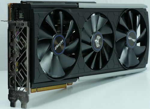 Sapphire Radeon RX 570 XT Nitro+ vue de face
