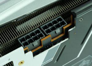 Sapphire Radeon RX 570 XT Nitro+ connecteurs d'alimentation 2 x 8 pin