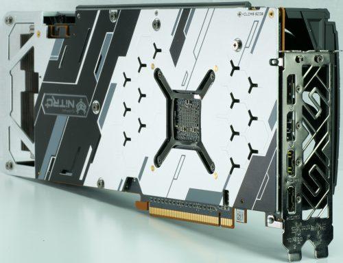 Sapphire Radeon RX 570 XT Nitro+ backplate
