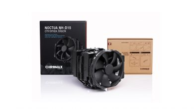 Photo of Noctua Chromax.black, les NH-D15, NH-U12S et NH-L9i sont enfin là !
