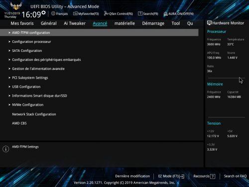 Asus TUF Gaming X570-Plus Wi-Fi BIOS
