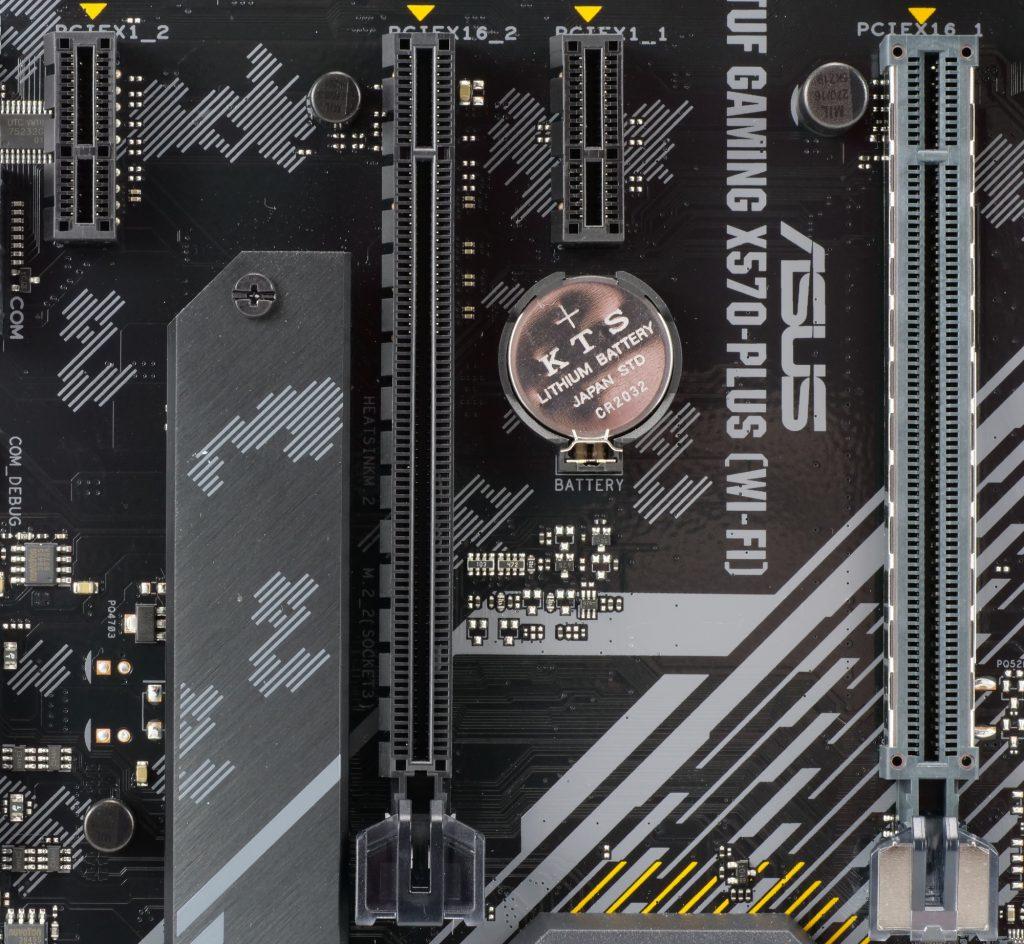 Asus TUF Gaming X570-Plus Wi-Fi ports PCIe