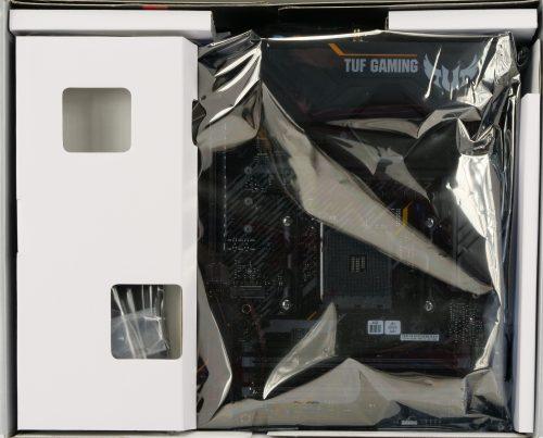 Asus TUF Gaming X570-Plus Wi-Fi intérieur de la boite