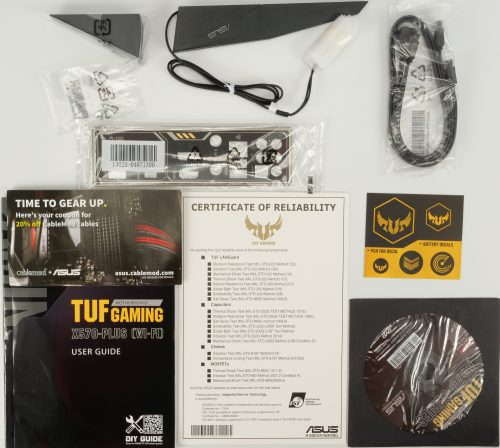 Asus TUF Gaming X570-Plus Wi-Fi bundle