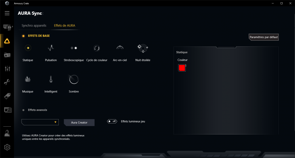 Asus TUF Gaming X570-Plus Wi-Fi Armoury Crate