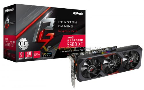 Asrock Radeon RX 5600 XT Phantom Gaming 6 Go