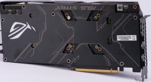 Asus ROG Strix RX 5600 XT OC derrière