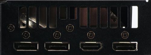 Asus ROG Strix RX 5600 XT OC connectique