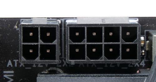 Gigabyte Z490 Aorus Pro AX connecteurs CPU 8+4-pin