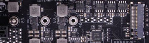 Gigabyte Z490 Aorus Pro AX port M2 sans radiateur