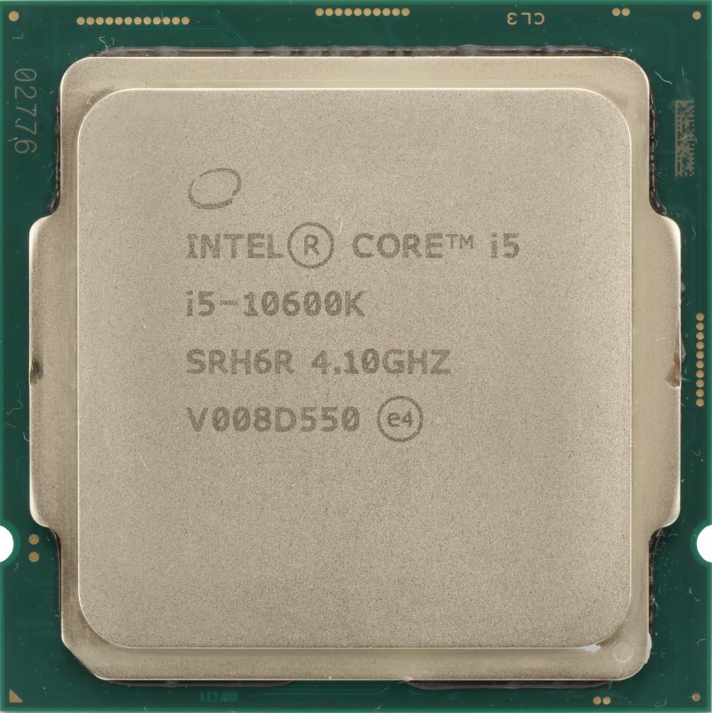 Photo Intel Core i5 10600K