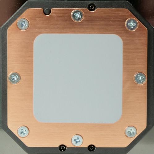 Corsair H115i Elite Capellix plaque froide en cuivre