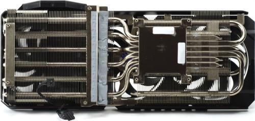 Asus TUF Gaming RTX 3080 OC système de refroidissement