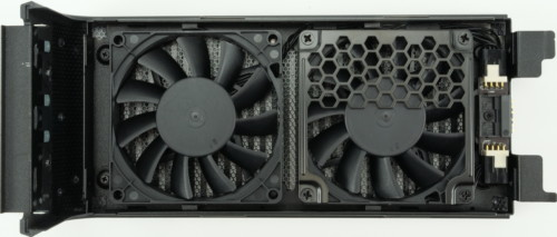 Intel NUC 9 Extreme ventilateurs sur le dessus