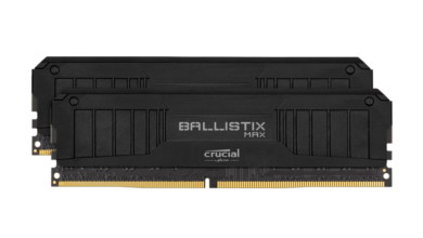 Photo of 7 GHz pour un module de mémoire DDR4 Crucial Ballistix Max