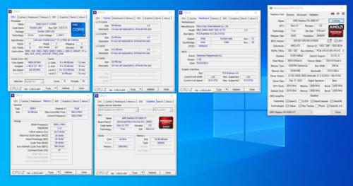 Intel Core i7-11700K CPU-Z