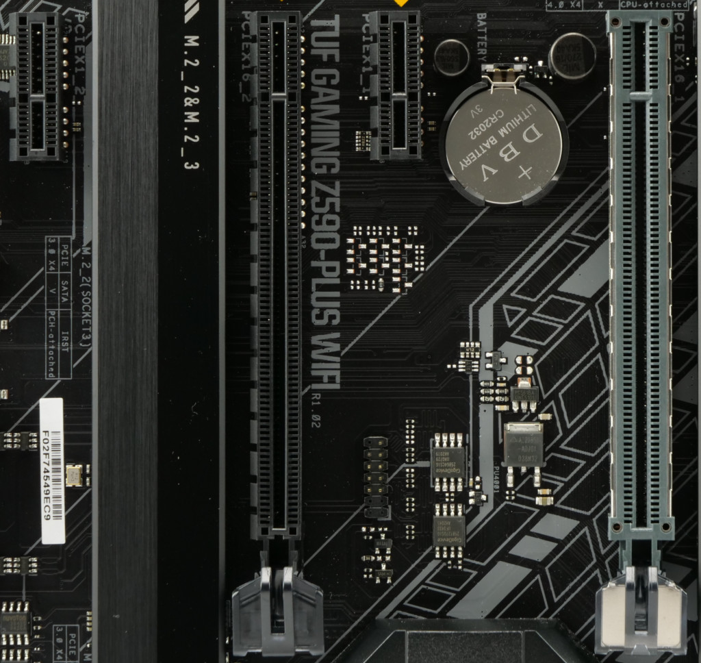 Asus TUF Gaming Z590-Plus WiFi ports PCIe