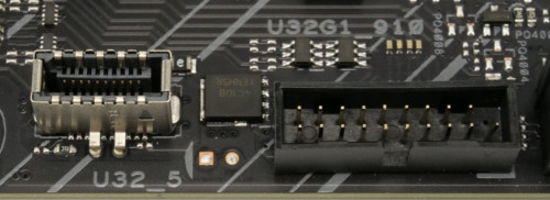 Asus TUF Gaming Z590-Plus WiFi headers USB Type-A et Type-C